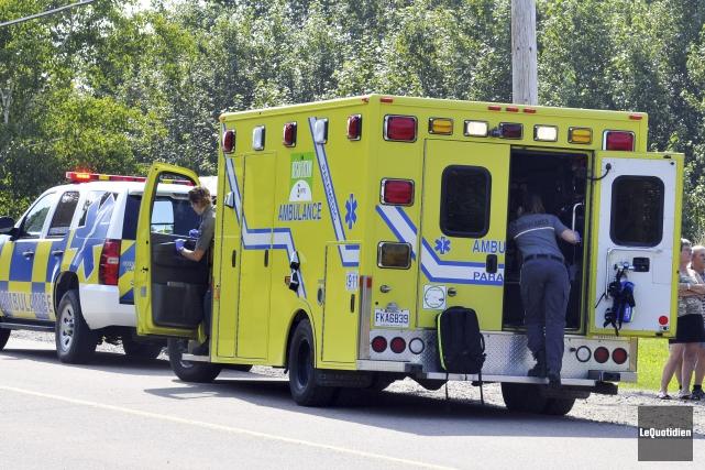 Le corps d'un homme a été retrouvé sur... (Photo Le Quotidien, Rocket Lavoie)