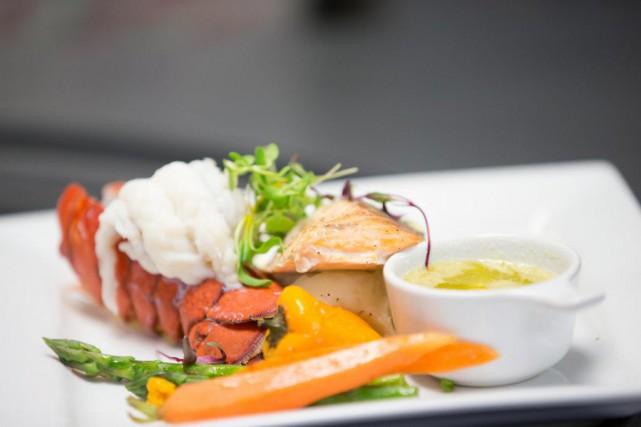 La queue de homard est un menu des... (Photo fournie par Croisières AML)
