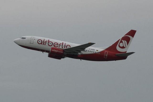 La compagnie aérienne allemande Air Berlin a annoncé la création dans l'année... (PHOTO AFP)