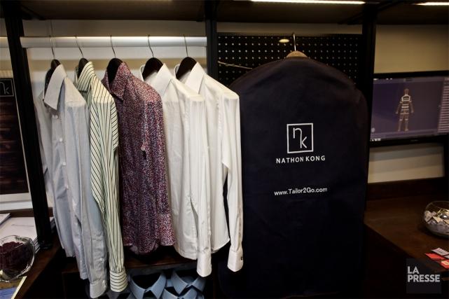 Tailor2Go est une boutique mobile montréalaise de prêt-à-porter. Le concept?... (PHOTO ANDRÉ PICHETTE, LA PRESSE)
