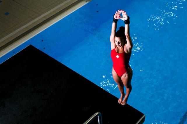 À 27 ans, la plongeuse montréalaise Meaghan Benfeito... (PHOTO MARTIN TREMBLAY ET OLIVIER JEAN, LA PRESSE)