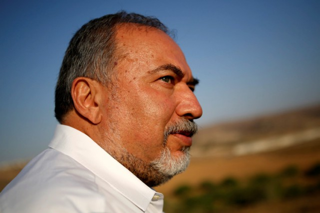Le ministre israélien de la Défense, Avigdor Lieberman.... (PHOTO REUTERS)