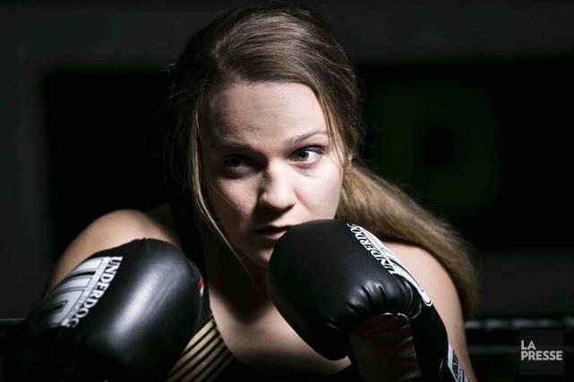 À ses premiers Jeux olympiques, la boxeuse Ariane... (La Presse, Martin Tremblay)
