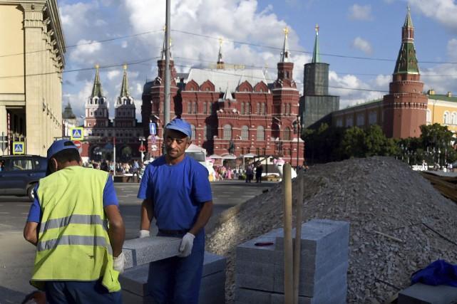 Les autorités de la capitale russe ont décidé... (AFP)