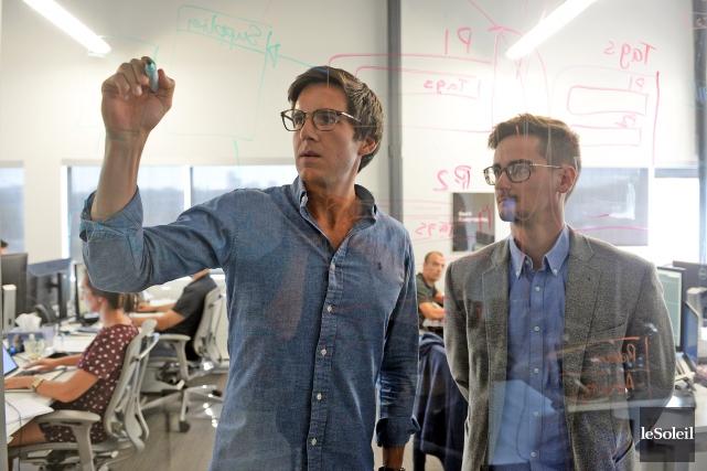 Depuis qu'Alexandre Leclerc et Antoine Bisson ont fondé... (Le Soleil, Erick Labbé)