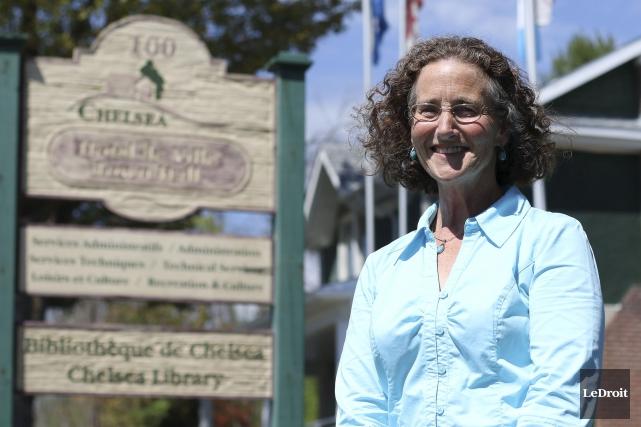 Caryl Green a été élue à la mairie... (Patrick Woodbury, LeDroit)
