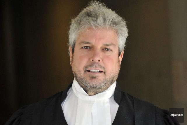 Le criminaliste Charles Cantin se présentera comme conseiller... (Photo Le Quotidien, Rocket Lavoie)