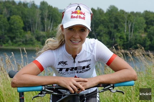 La spécialiste du cross-country Emily Batty sera sur... (Le Soleil, Erick Labbé)