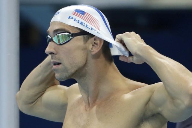 Michael Phelps amorcera ses cinquièmes et derniers Jeux... (Photo Matt Slocum, AP)