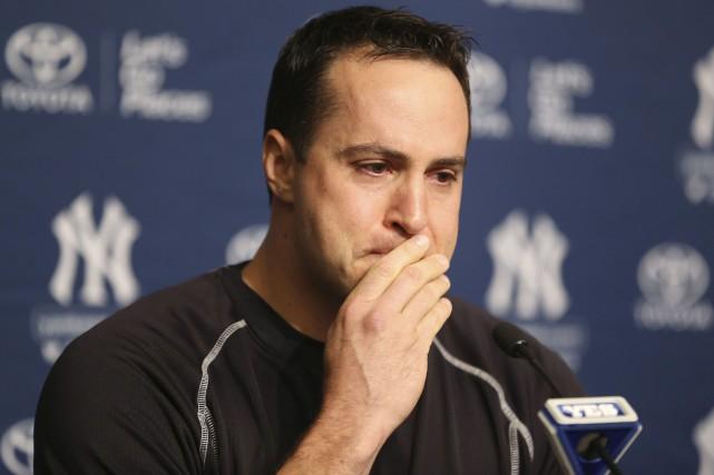 Le premier-but des Yankees Mark Teixeira était très... (Associated Press, Seth Wenig)