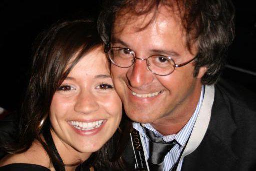 Notre chroniqueur Stéphane Laporte et sa nièce Gabrielle,... (PHOTO FOURNIE PAR LA FAMILLE)