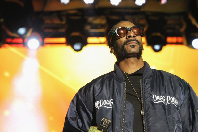 Snoop Dogg... (PHOTO BENNETT RAGLIN, ARCHIVES AFP/GETTY)