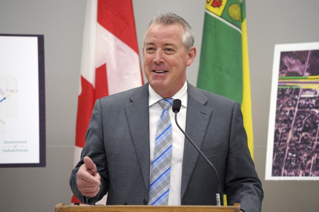 Le vice-premier ministre de la Saskatchewan, Don McMorris,... (Archives La Presse Canadienne, Michael Bell)