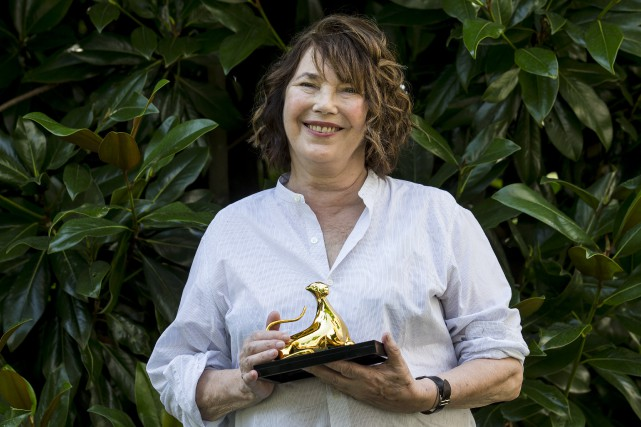L'actrice Jane Birkin, qui a notamment le rôle... (Associated Press, Alexandra Wey)