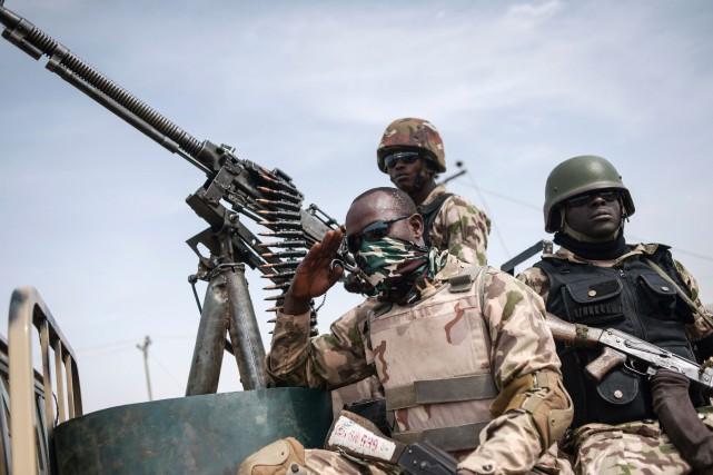 Onze soldats ont été tués dans les affrontements... (PHOTO ARCHIVES AFP)