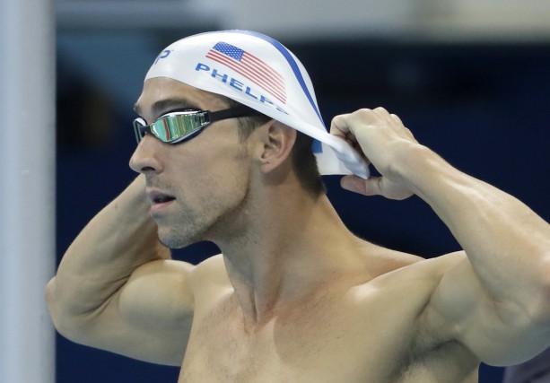 À Rio, Michael Phelpspourrait franchir la barre des... (AP, Matt Slocum)