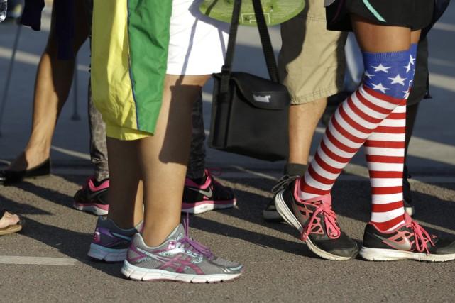 Les organisateurs des Jeux olympiques de Rio de Janeiro ont présenté leurs... (AP)