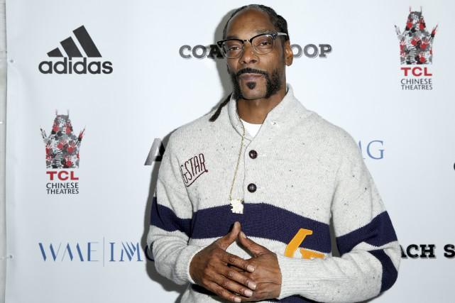 Le rappeurSnoop Dogg... (AP)