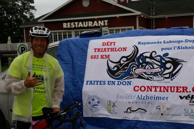 L'an dernier, Jean-François Dupras a parcouru 682 kilomètres... (Photo courtoisie)
