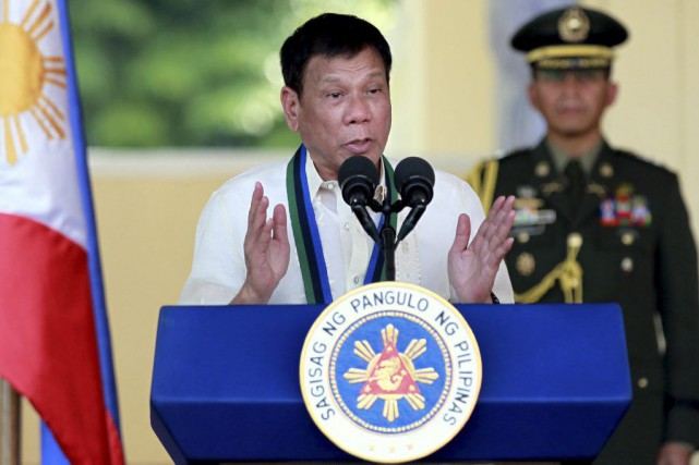 Rodrigo Duterte... (Photo Bullit Marquez, archives Associated Press)