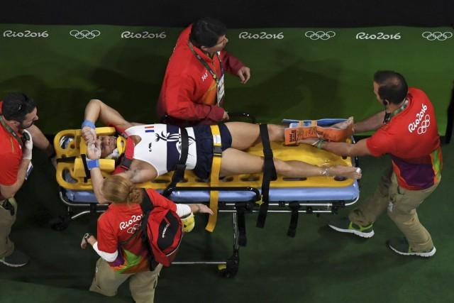 Le Français Samir Aït Saïd a subi unedouble... (PHOTO ANTONIN THUILLIER, AFP)