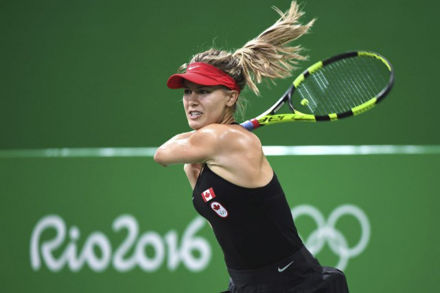 Eugenie Bouchard a une fiche de 3-1 contre Angelique Kerber.... (PHOTO RYAN REMIORZ, PC)