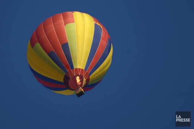 Une semaine après l'accident de montgolfière ayant coûté la vie à 16 personnes... (Photo archives La Presse)
