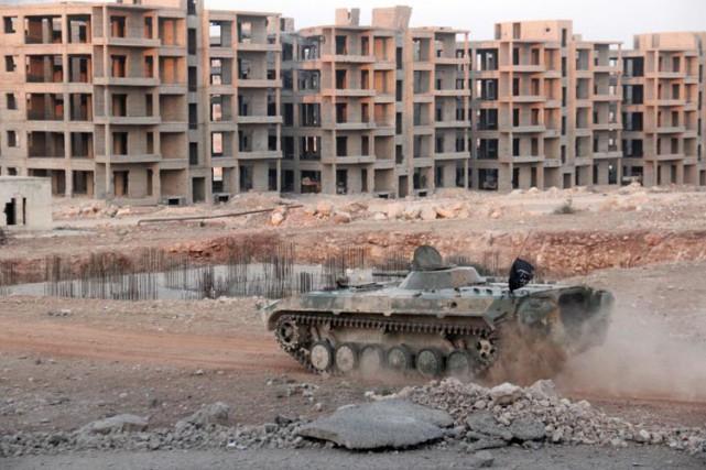 La guerre en Syrie a fait plus de... (PHOTO AFP)