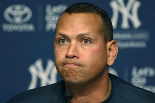 Alex Rodriguez a annoncé sa retraite, dimanche.... (Kathy Willens, Associated Press)