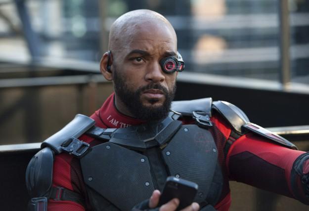 Will Smith dans une scène deL'escadron suicide... (AP)