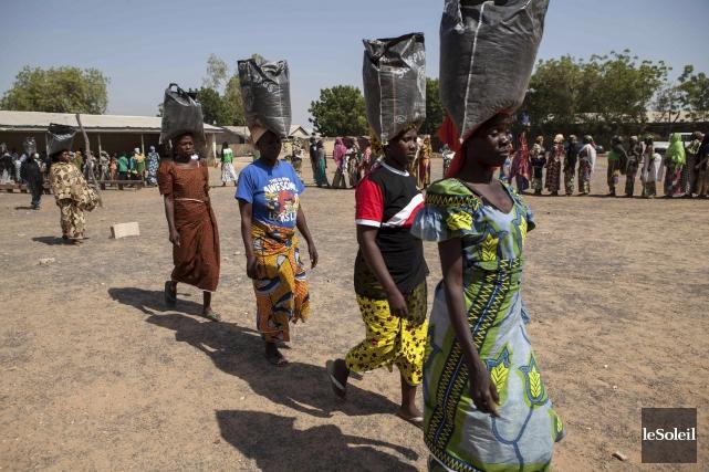 Au nord-est du Nigeria, dans des enclaves en... (Photothèque Le Soleil)