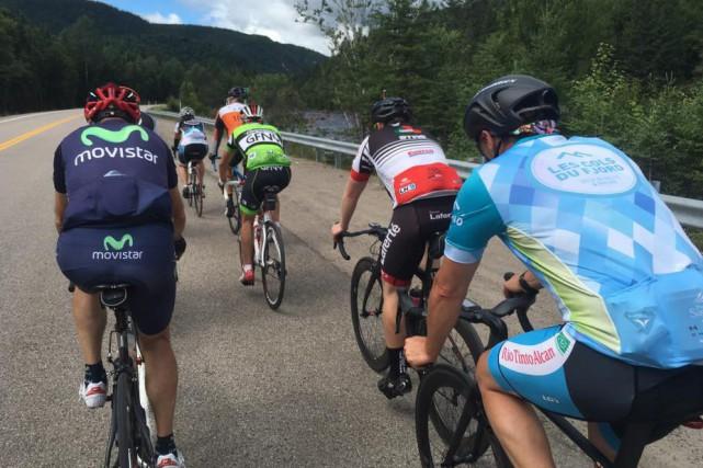 Les participants des Cols du Fjord ont parcouru... (Photo tirée de Facebook)