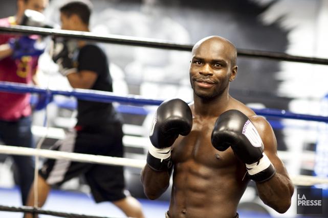 Le boxeur d'origine congolaise Ghislain Maduma a rendu... (La Presse, Sarah Mongeau-Birkett)