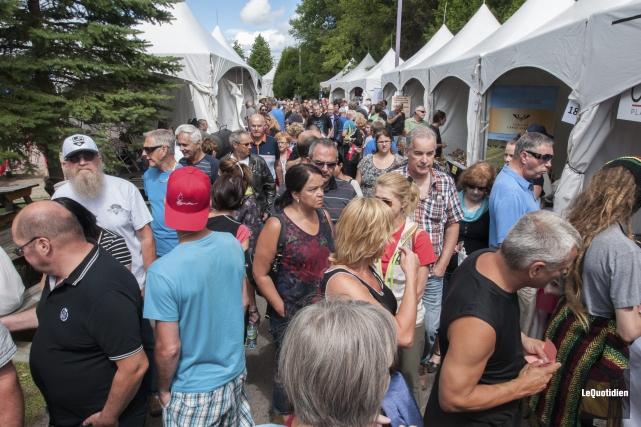 Les organisateurs estiment avoir reçu plus de 50... (Photo Le Quotidien, Michel Tremblay)