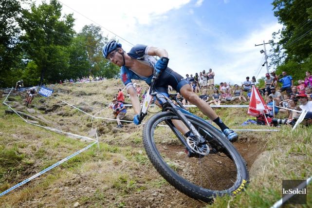 (Guillaume Pelletier) - Léandre Bouchard a conclu sa préparation olympique avec... (Photo Le Soleil)