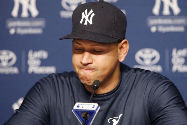 Alex Rodriguez s'est dit heureux d'avoir encore la... (AP, Kathy Willens)