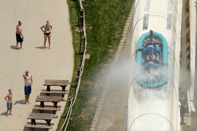 Le Schlitterbahn Waterpark, à Kansas City, sera fermé... (AP, Charlie Riedel)