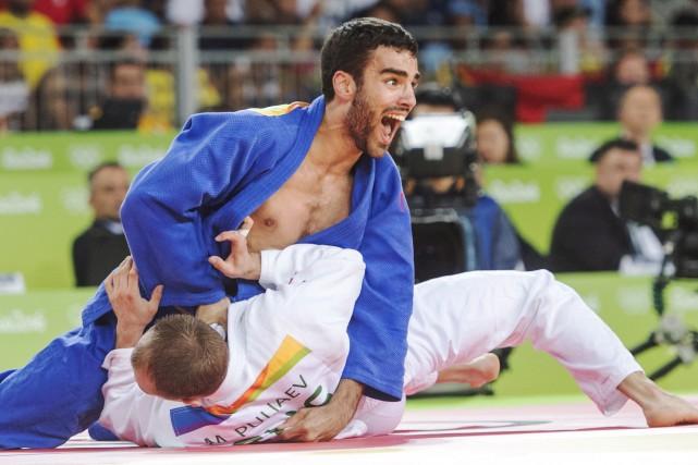 Antoine Bouchard, lors de sa participation aux Jeux... (Photo PC)