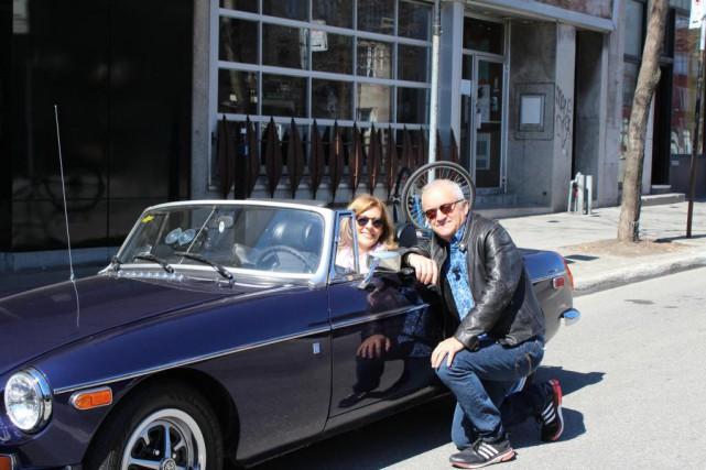 Sophie Lorain a embarqué avec Michel Barrette dansViens-tu... (PHOTO FOURNIE PARICI RADIO-CANADA TÉLÉ)