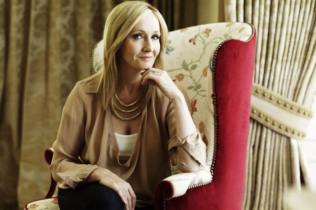 J.K. Rowling... (Photo Andrew Montgomery, Archives Bloomberg)