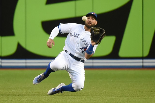 Kevin Pillar... (Photo Dan Hamilton, archives USA Today Sports)
