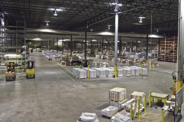 Une centaine d'employés travaillait à l'usine de Beaulieu... (fournie par Michel Rodier)