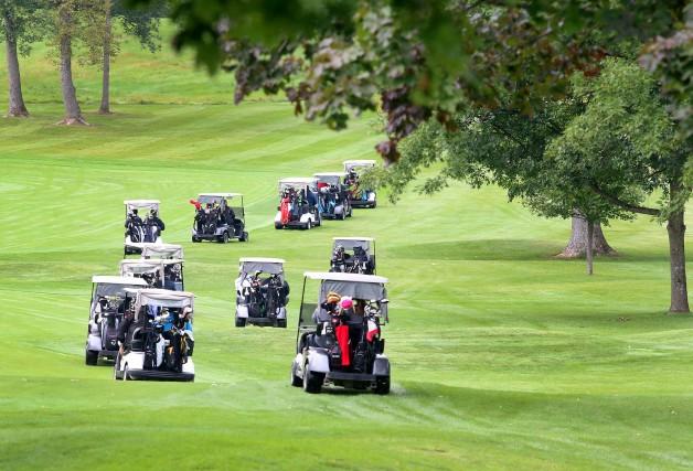 Les Sénateurs joueront au golf, lundi.... (Archives, LeDroit)