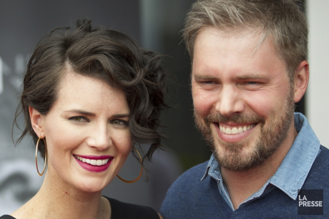 Marie-Ève Janvier et Jean-François Breau seront du Show... (archives La Presse)