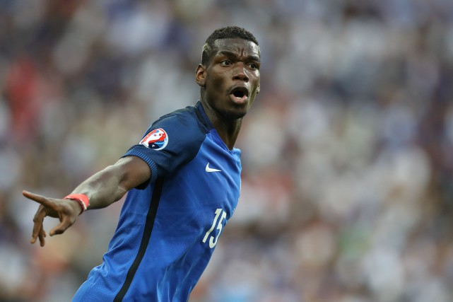 Paul Pogba.... (AFP)