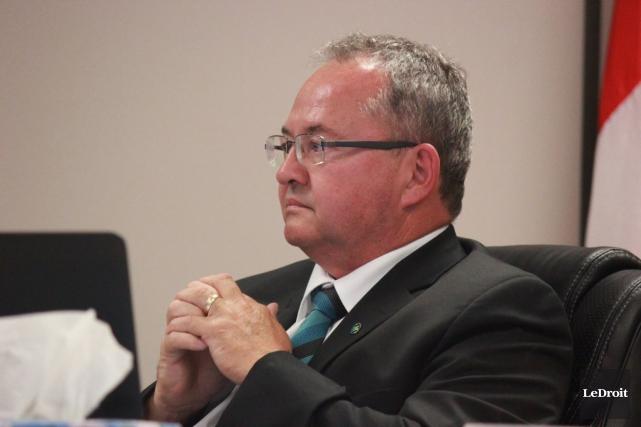 Le maire de La Nation, François St-Amour, a... (Martin Brunette, LeDroit)