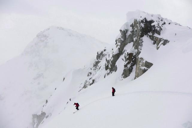 Whistler Blackcomb est le centre de ski le... (La Presse Canadienne, Jonathan Hayward)