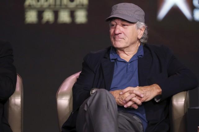 Robert De Niro en octobre dernier... (AP, Kin Cheung)