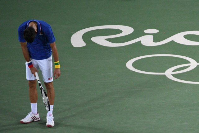 Novak Djokovic... (AFP)