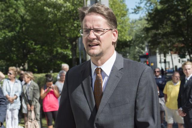 Le chef par intérim du Parti québécois, Sylvain... (La Presse Canadienne, Paul Chiasson)